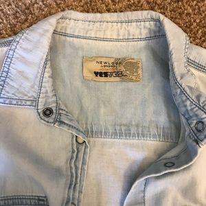 New Look Tops - Jean top